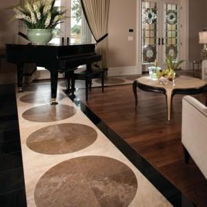 Tile wood living