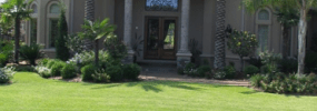 Houston Grass Lawn Sod Residential Installation
