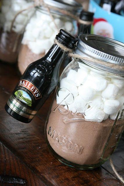 Hot Chocolate + Bailey's – Great Christmas Gift Idea