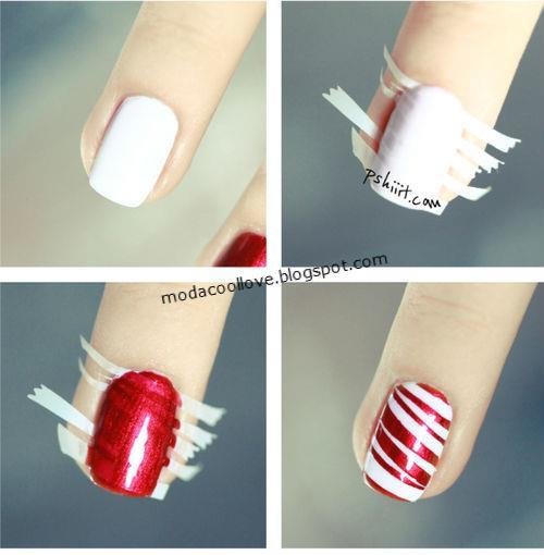 Nails Design Ideas for Christmas