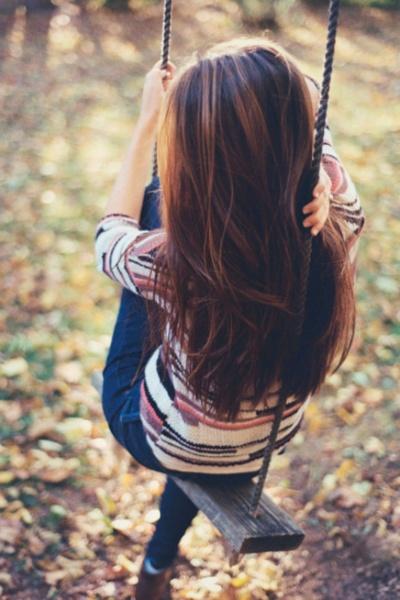 chocolate + caramel hair color