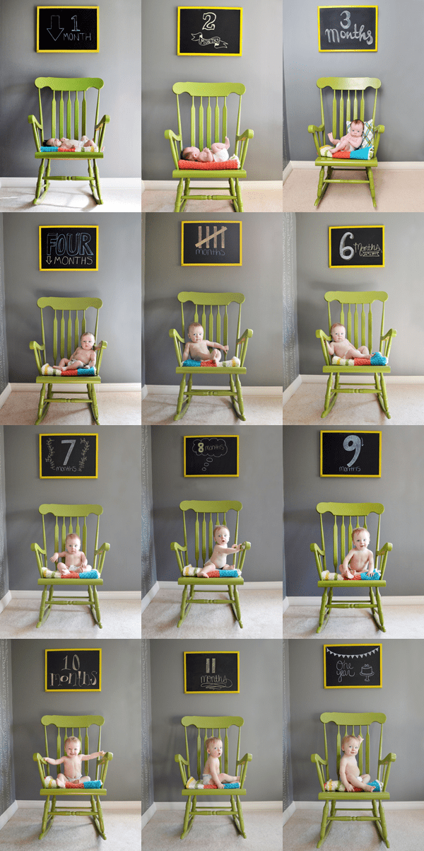 Baby Monthly Photos Ideas