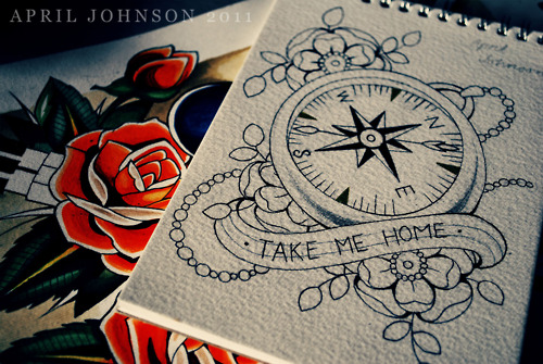 #tattooflash #compass #tattoo