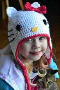 Hello Kitty Hat Pattern