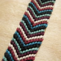 Classic Chevron Friendship Bracelet