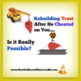 Rebuild Trust