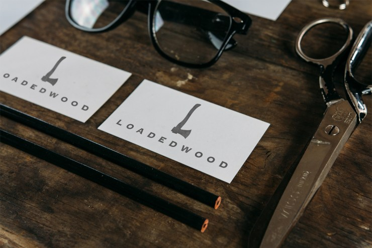 Loaded Wood Logo Development by Stevo Dirnberger | How Far From Home