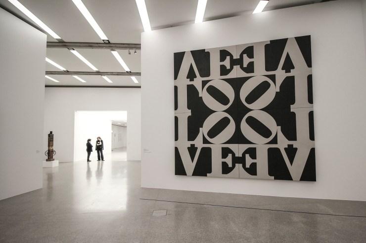 Robert Indiana original at the MUMOK, Vienna | How Far From Home