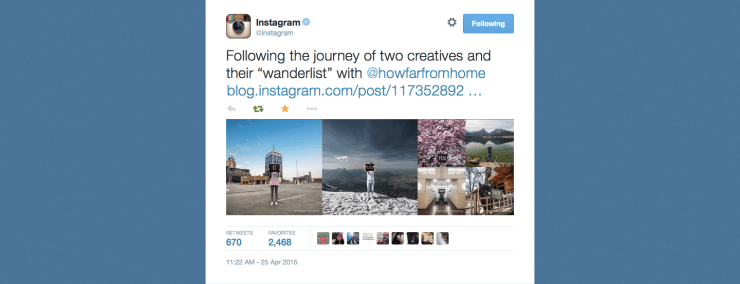 Instagram Feature | How Far From Home