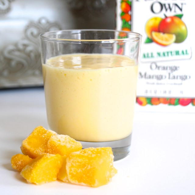 Mango Creamsicle Smoothie