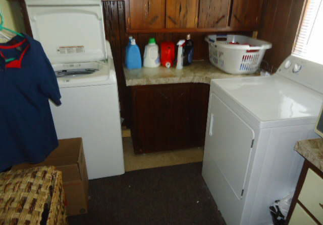 Home Tour | Our Master Closet/Laundry area - before