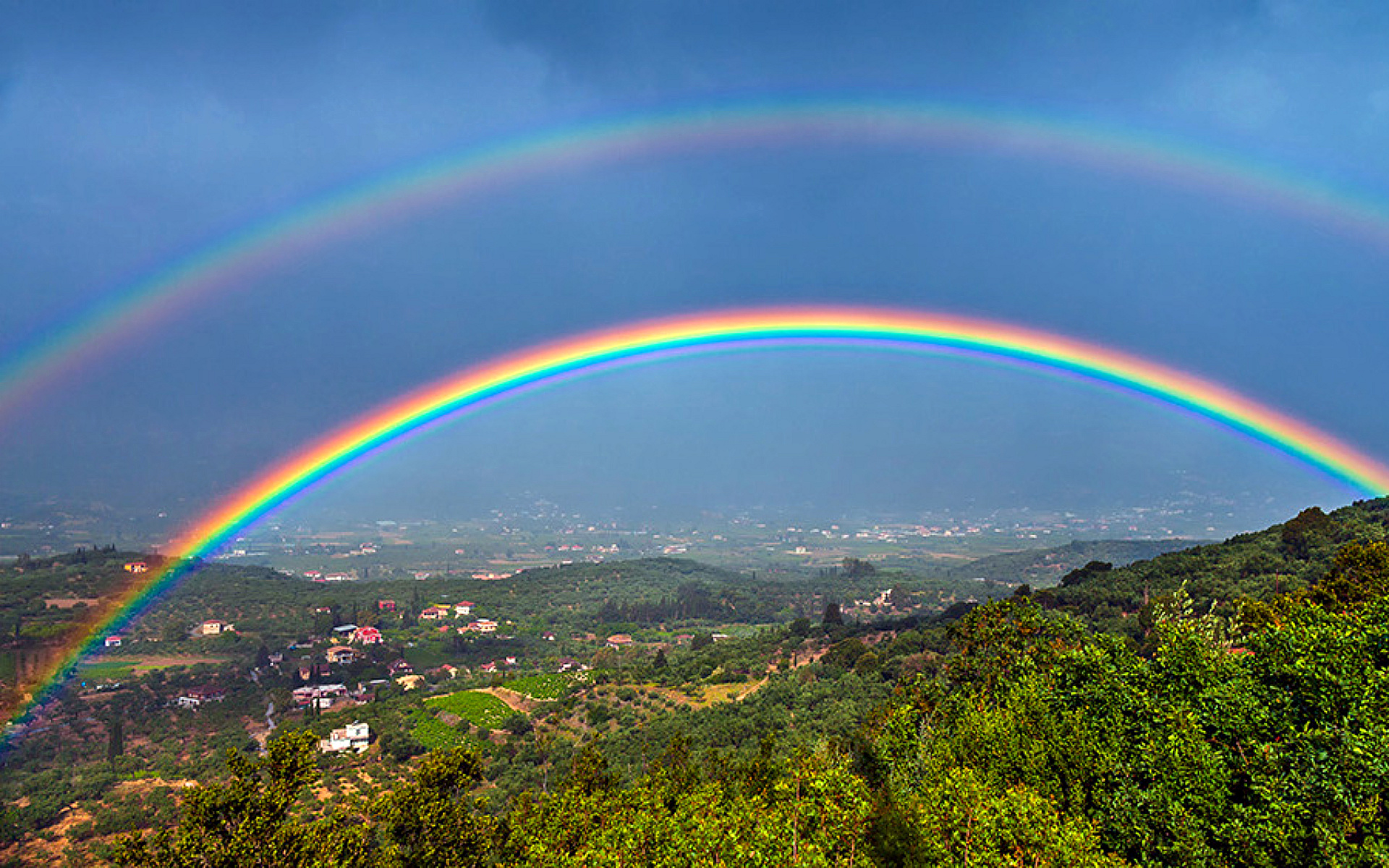 What causes a double rainbow    How It Works Double Rainbow