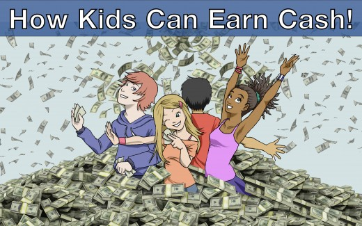 ⋆100+ Ways: How to Make Money as a Kid TODAY!⋆