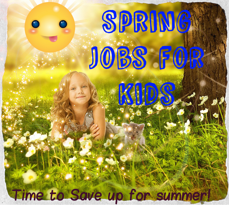 Amazing Summer: Method 26: Kids Spring Into Spring Cleaning As A Fun Job