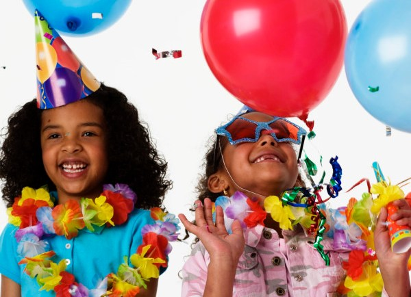 Girls at Party --- Image by © Royalty-Free/Corbis