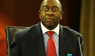 CAPE TOWN, SOUTH AFRICA ñ MAY 3: Deputy Minister of Finance, Nhlanhla Nene during the pre-conference on the 2013 World Economic Forum on Africa on May 3, 2013 in Cape Town, South Africa. South Africa will be hosting the 23rd World Economic Forum on Africa from 8 to 10 May 2013. The Forum will focus on Africaís economic issues. (Photo by Gallo Images / Foto24 / Mary-Ann Palmer)
