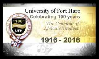 Zuma  To Address Fort Hare Centenary Celebrations