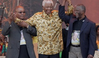 mandela, zuma and thabo