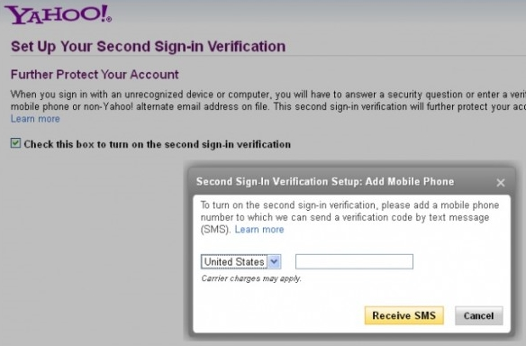 Secure Yahoo Account