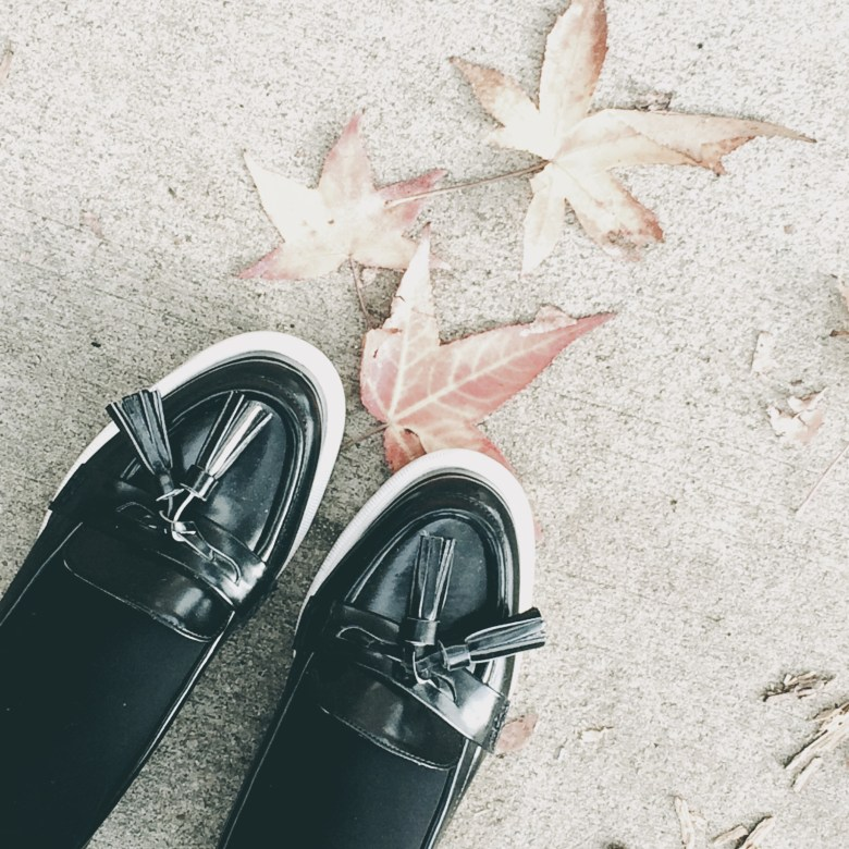 october loafer style