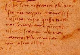 What kind of power/ control did Leonardo da vinci have?? ?