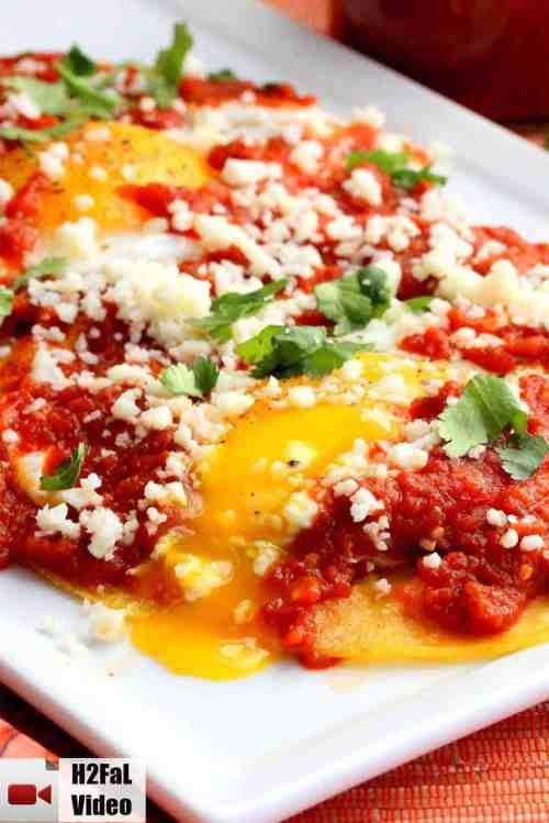 Medium Of Easy Huevos Rancheros Recipe