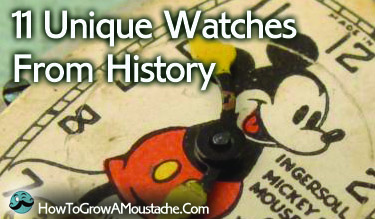 11 Unique Watches From History (Infographic)