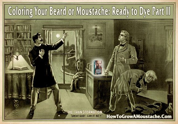 Coloring Your Beard or Moustache: Ready To Dye Part 2