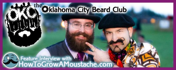 How To Grow A Moustache Feature Interview With <em>The Oklahoma City Beard Club</em>
