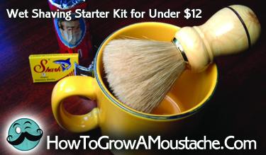 Wet Shaving Starter Kit for Under $12
