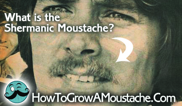 What is the Shermanic Moustache?