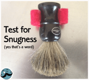 DIY shaving Brush Mount