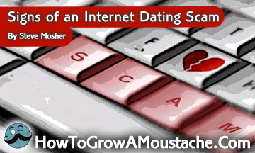 Signs of an Internet Dating Scam