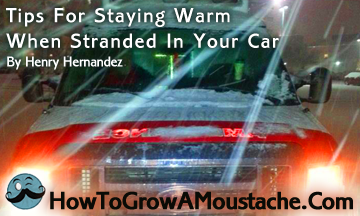 Tips For Staying Warm When Stranded In Your Car