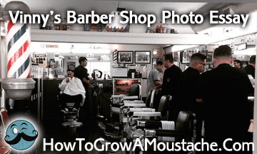 Vinny's Barber Shop Photo Essay