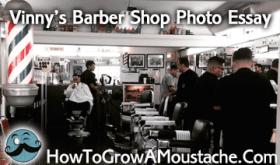 Vinny's Barbershop Photo Essay