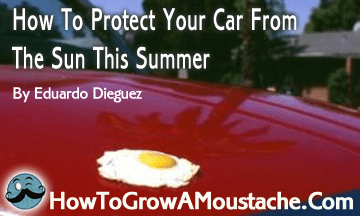 how to protect your car from the sun this summer how to grow a moustache. Black Bedroom Furniture Sets. Home Design Ideas