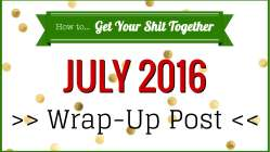 Here's what happened on the HowToGYST site, YouTube channel, and at home in July 2016