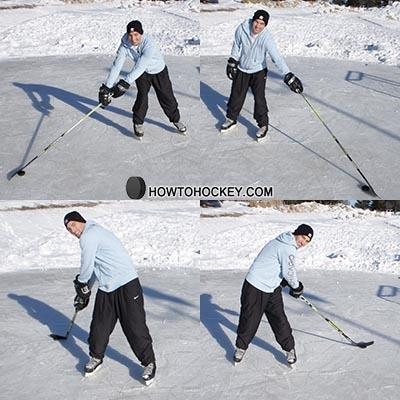 How to practice stickhandling