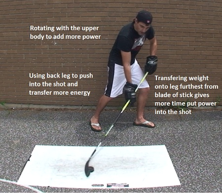 how to improve wrist shot power