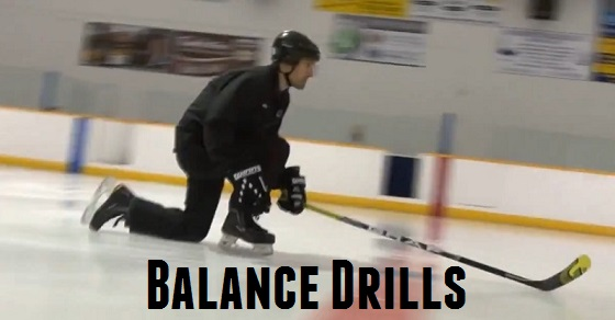 5 Balance Drills for Hockey Players – Learn to Skate Series