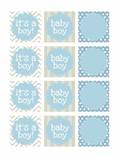 Considerable Baby Boy Shower Food Ideas Baby Boy Shower Decoration Ideas Favor Tags Boy Baby Shower Free Printables How To Nest