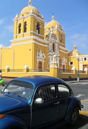 Trujillo Cathedral in Peru