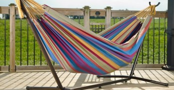 Vivere Hammock Stand Review [Low priced but not Cheap]