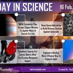 Today in Science 16 Feb, 2013 by Hashem AL-ghaili