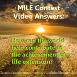 MILE LIfe Extension Video Contest