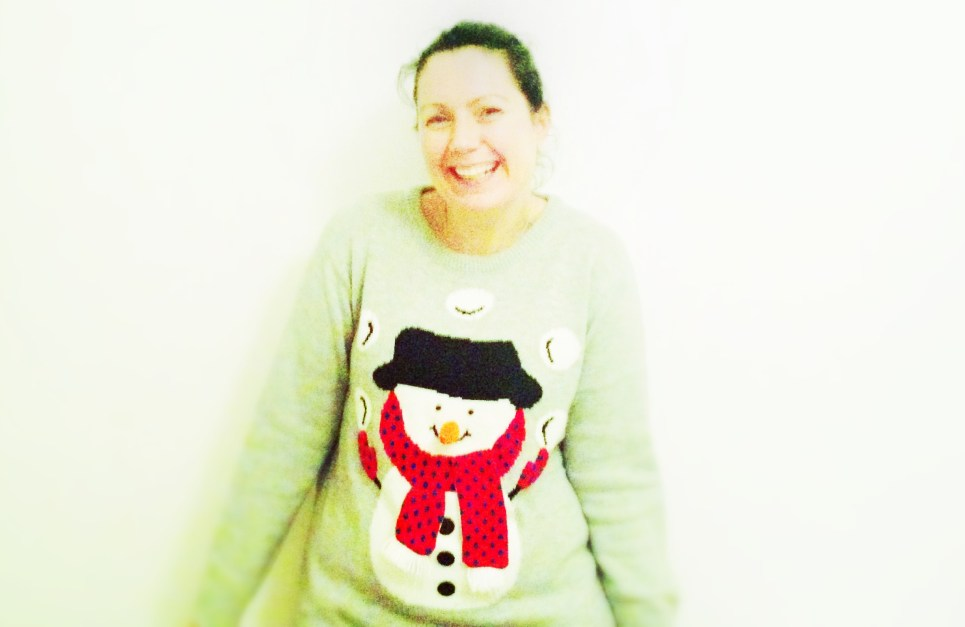 #xmasjumperday