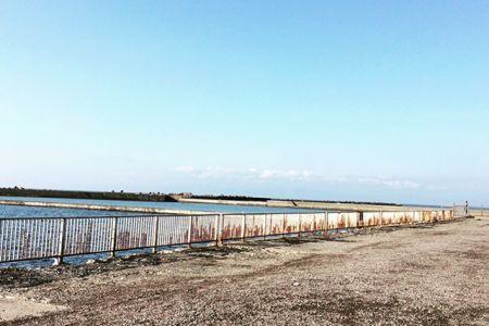 東埠頭のこの雰囲気が大好き久しぶりにきたかわいこちゃんにも遭遇今日はラッキー#石狩 #新港 #キタキツネ #東埠頭