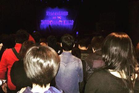 #浅井健一andtheinterchangekills #札幌#キューブガーデン #浅井健一