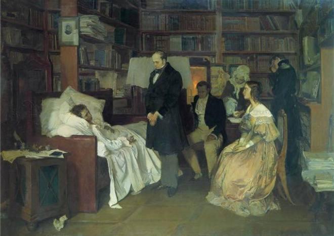 смрт александра сергејевића пушкина